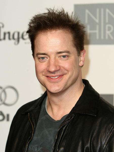"<a class=""taxInlineTagLink"" id=""PECLB001799"" title=""Brendan Fraser"" href=""/topic/entertainment/brendan-fraser-PECLB001799.topic"">Brendan Fraser</a> is 42 today. (Photo by Alberto E. Rodriguez/Getty Images)"