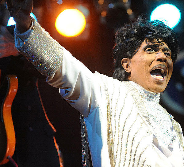 Good golly Miss Molly!  Rock 'n' roller Little Richard celebrates his 78th birthday today.