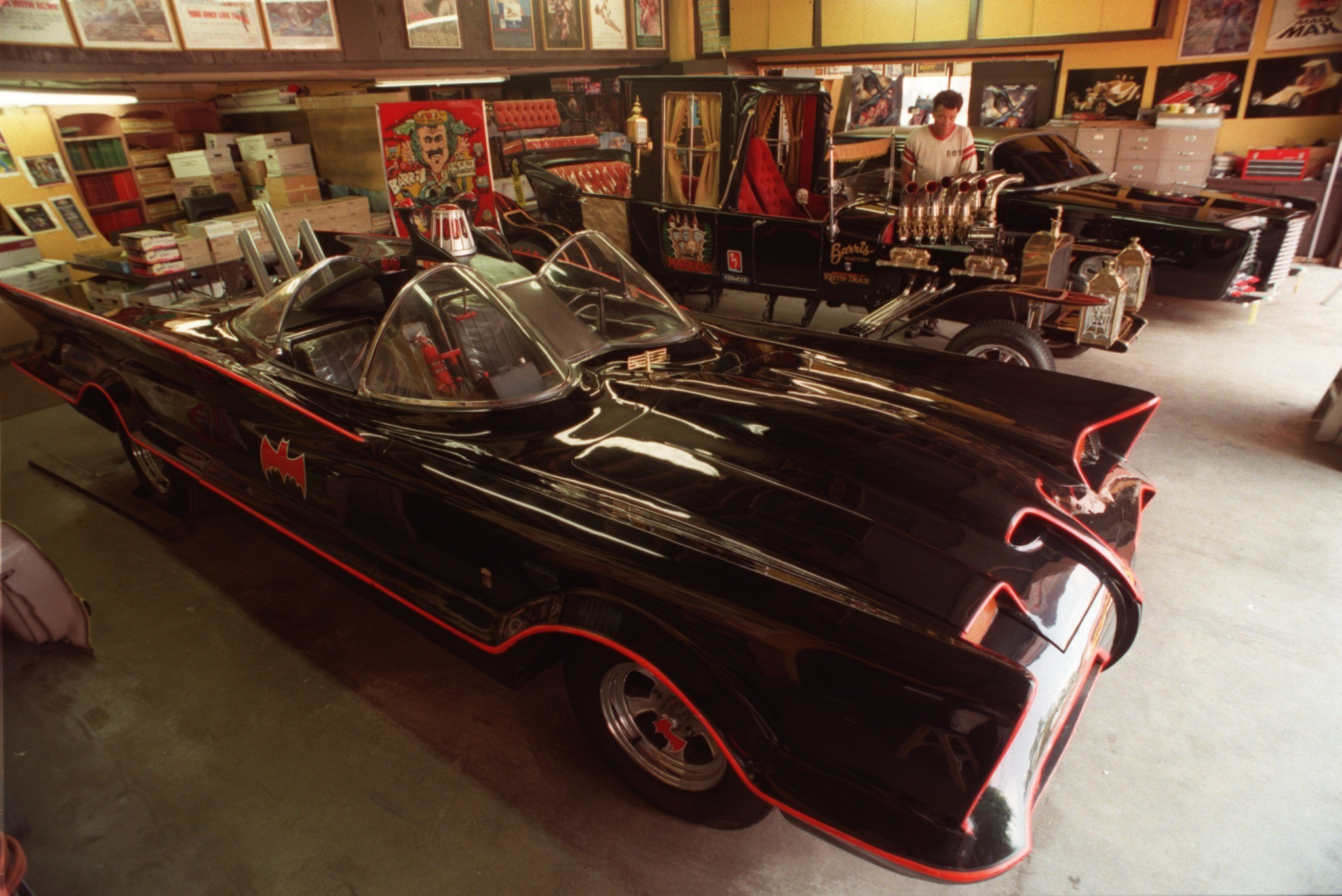 The original Batmobile - Batmobile
