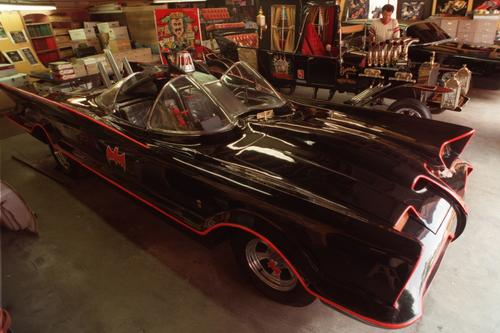 The Batmobile from  the 1960s TV series.