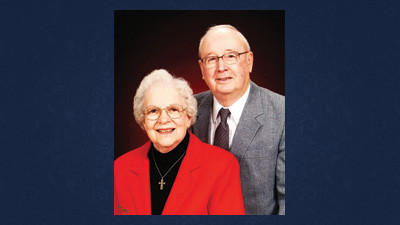 Merle Mishler with his wife, Esther. This photo was submitted in celebration of their 60th anniversary August 9.