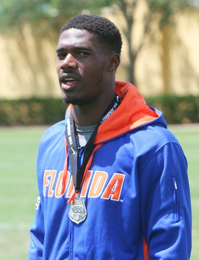 Quinton Powell, LB, Daytona Beach Mainland, committed to the University of Florida