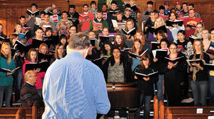 Holiday Choral Concert tonight