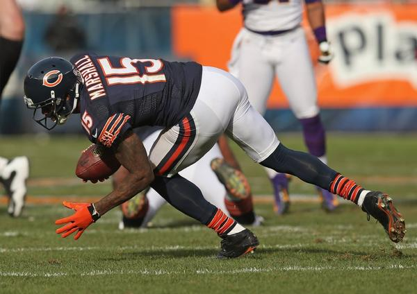 Bears receiver Brandon Marshall says some NFL players use Viagra as a performance enhancer on the field.