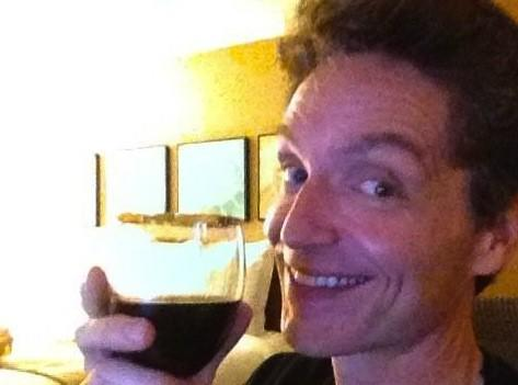 Richard Marx, in a photo he tweeted to fans Wednesday night.