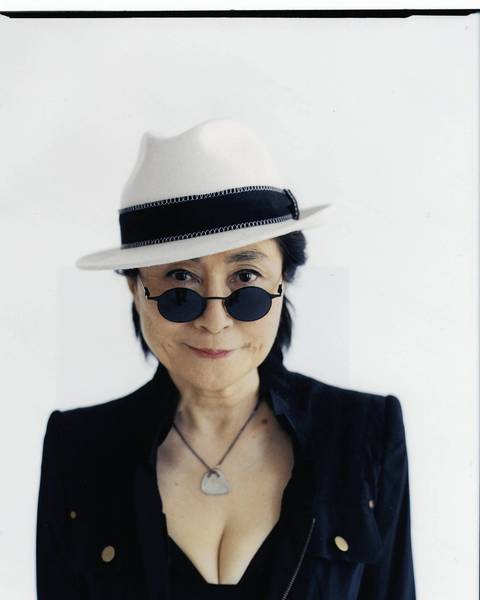 "Yoko Ono  is the sponsor of an exhibit this weekend in Stamford, ""So This is Christmas: The Artwork of John Lennon."""