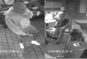 Police searching for gunmen who robbed a Pizza Hut in Miramar