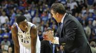 LEXINGTON — John Calipari says that freshman Archie Goodwin has solidified himself as Kentucky's point guard, but he will play sophomore Ryan Harrow at Notre Dame tonight to gauge where he is after missing the last five games due to illness and personal issues.