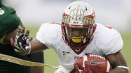 TALLAHASSEE -- Weeks after suffering his second season-ending injury in a year, Florida State running back Chris Thompson received a shot of good news from the ACC on Thursday. Due in large part to his patient and perservering attitude, the conference bestowed upon the senior one of its most special awards.