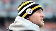 The Pittsburgh Steelers' Ben Roethlisberger was listed as limited in Wednesday's practice, which was interpreted as a boost in the arm for the Steelers who have dropped two straight games without their franchise quarterback.