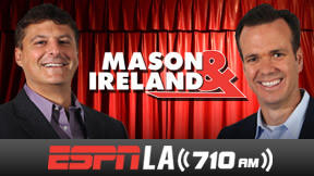 Sportstalk radio has never really caught on in L.A., but there has been no better show than the current show hosted by Steve Mason and John Ireland on ESPNRadio 710. Amusing interplay between the two, plus the best guests in the area make this a must-listen show if you are a serious L.A. sports fan.