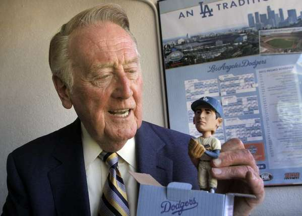 How can Vin Scully be on the underrated list? Because not everyone seems to realize he is the best announcer in the history of mankind. Until everyone realizes that, he will be forever underrated.