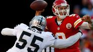 Rolando McClain's days with the Oakland Raiders appear to be numbered. And that number could very well be zero.