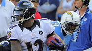 Ravens return specialist Jacoby Jones' stellar season has been recognized by the NFL.