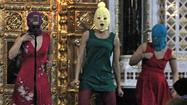 "Two members of Pussy Riot remain imprisoned for their defiant ""punk prayer"" at a Moscow cathedral. Now the video of their protest against Vladimir Putin could be cut off from Russia as well, after a Moscow court deemed footage of their punk performance ""extremist."""