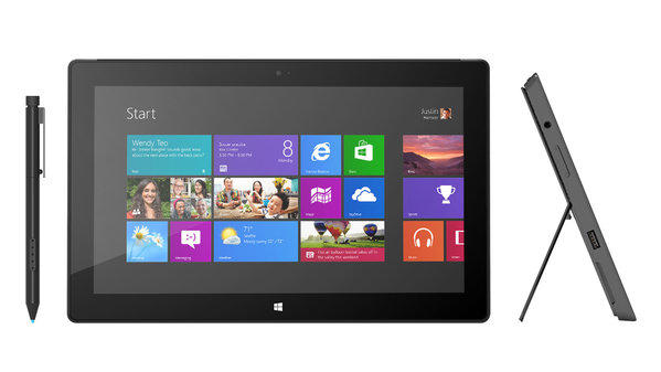Microsoft's Surface with Windows 8 Pro will be available in January, with prices starting at $899.