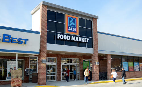 The new Aldi Food Market held a pre-opening tour on Thursday, Nov. 29 before its grand opening on Friday.