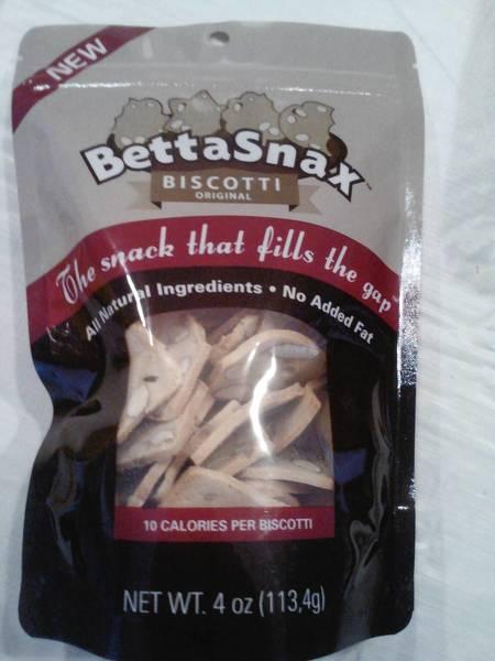 Bettasnax, thin slices of almond biscotti
