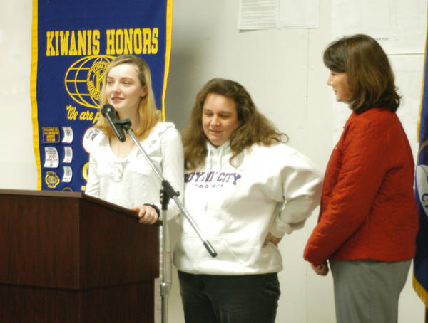 Kayla Fuller-Lewis, a 10th grade student at Boyne City High School, wrote about the March of Dimes in her essay which won a prize in the Eddie Essay Contest.