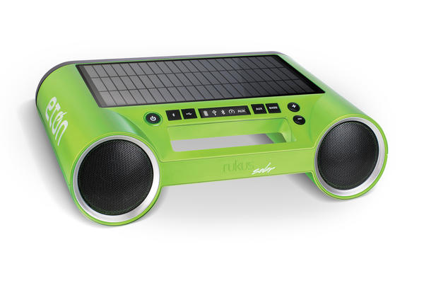 Perfect for South Florida music lovers, the Etón Rukus Solar Boombox allows you to keep the music playing loud and clear - and non-stop. Simply pair any Bluetooth-enabled device, from Smartphones to tablets, to stream music wirelessly to the portable boombox. Its solar panel helps ensure the Etón Rukus never runs out of power (the device also comes with an AC adapter for easy charging on rainy days or long nights). The Rukus can also charge most devices that use a USB cable, making it the perfect companion for a beach day or a potential savior in the power-less days after a hurricane. The Rukus is available at Amazon.com, REI, J&R, Brookstone, Frontgate and Etón online store (ShopEtonCorp.com) for $150.