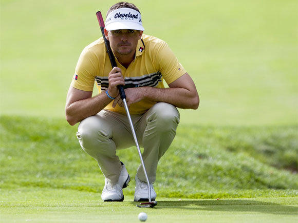 Keegan Bradley is one shot behind the lead Thursday early in the opening round of the World Challenge golf tournament in Thousand Oaks.