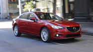 L.A. Auto Show: Mazda shows off all-new 6 sedan