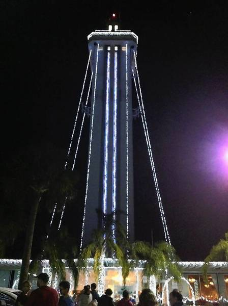 The Citrus Tower Spectacular Christmas Light Show, put on for the first time last year, is back again in 2012.