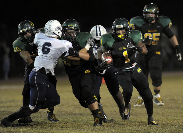 University School has dominated this season in large part because of its offensive line