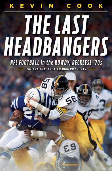 "<strong>The Last Headbangers</strong><br>  <strong><a class=""taxInlineTagLink"" id=""ORSPT000007"" title=""National Football League"" href=""/topic/sports/football/national-football-league-ORSPT000007.topic"">NFL</a> Football in the Rowdy, Reckless '70s — The Era That Created Modern Sports</strong><br>  <strong>Kevin Cook</strong><br>  Norton, $26.95<br>  Pittsburgh Steelers <a class=""taxInlineTagLink"" id=""PESPT003005"" title=""Franco Harris"" href=""/topic/sports/franco-harris-PESPT003005.topic"">Franco Harris</a>' ""Immaculate Reception"" is just one highlight from the glory days of the NFL between 1972 and 1982.<br>"