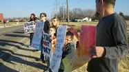 Photos: Bullying protest at Campus High School