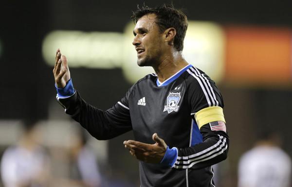 Earthquakes striker Chris Wondolowski tied an MLS record with 27 goals this season.