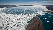 Ice sheet melting accounts for 20% of sea level rise since 1992