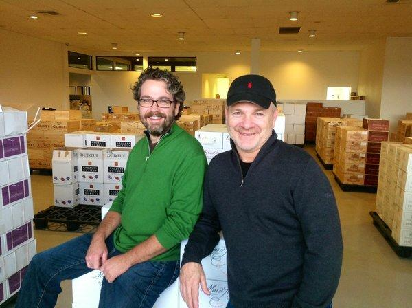 Kyle Meyer and Tristen Beamon have just opened Best Wines Online in Santa Ana