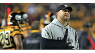 PITTSBURGH (AP) — Ben Roethlisberger can hold his newborn son Ben Jr. in his injured right arm just fine, thanks.