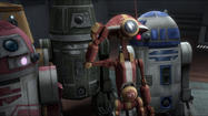 "R2-D2 and a group of droids are sent on the dangerous mission in the latest episode of ""Star Wars: The Clone Wars."""