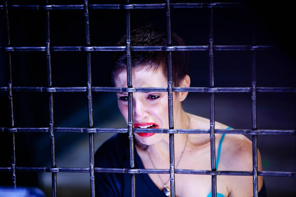 "Emma Fitzpatrick as Elena in ""The Collection."""