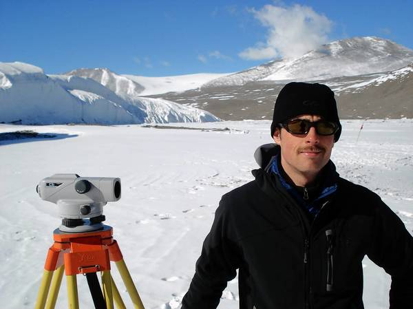 Adam Wlostowski, a 2006 Freedom High graduate and Penn State doctoral student, is doing research in Antarctica for his Ph.D. in Antarctic stream networks.