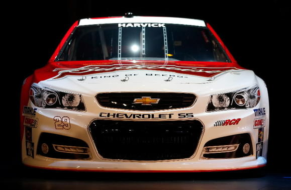 NASCAR revealed its revamped 2013 cars. Chris Graythen, Getty Images.