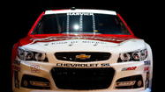 LAS VEGAS -- NASCAR moves toward the future in a sweet ride.