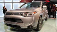L.A. Auto Show: Mitsubishi unveils all-new Outlander crossover