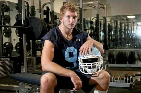 Corona del Mar High senior defensive end Tim Reinhardt is the Daily Pilot High School Football Player of the Week.