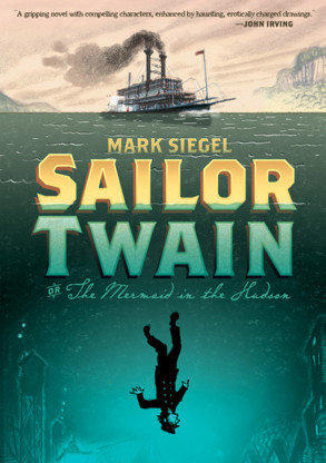 "<strong>Sailor Twain</strong> <br> <strong>Or: The Mermaid in the Hudson</strong> <br> <strong>Mark Siegel</strong> <br> First Second, $24.99 <br> A moody, historical love story about a riverboat captain who rescues a mermaid from the <a class=""taxInlineTagLink"" id=""PLTRA00001060"" title=""Hudson River"" href=""/topic/environmental-issues/bodies-of-water/rivers/hudson-river-PLTRA00001060.topic"">Hudson River</a>."