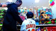 VIDEO Orioles' Adam Jones takes families shopping