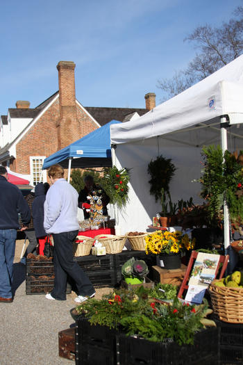 Yorktown's Christmas Market Saturday, Dec. 1, features vendors with holiday items.