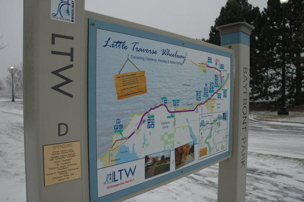 The Little Traverse Wheelway is one part of the tip of the mitt's trail system, which Jeff Winegard, executive director of the Top of the Mitt Trails Council, as well as other Northern Michigan organizations, hope to have mapped on a website early next year.