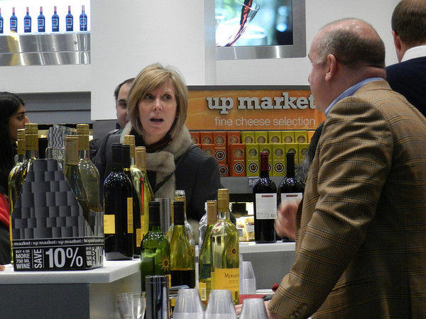 The upscale Walgreens store in Los Angeles will have an extensive wine selection, sushi, a barista and juice bar