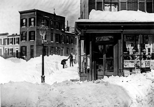 The Great Arctic Outbreak of 1899 started with a foot of snow on Feb. 5 and struck again with 21 inches on Valentine's Day. The season's tally came to 51 inches, a record that lasted until 1996's 62.5 inches.