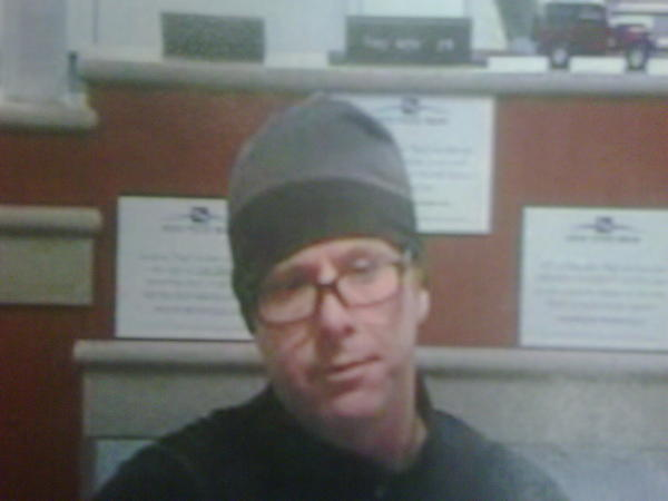 A man robbed a Fifth Third Bank in Oak Brook Thursday.