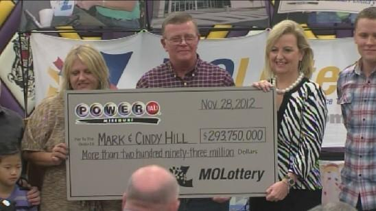 Mark Hill bought one of two winning tickets for the record Powerball jackpot drawing on Wednesday.  His wife, Cindy, is on the left in this photo, as well as their daughter.