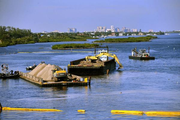 A $2.3 million project to expand the Snook Islands includes planting more mangroves, sea grass beds and oyster reefs that improve marine habitat.
